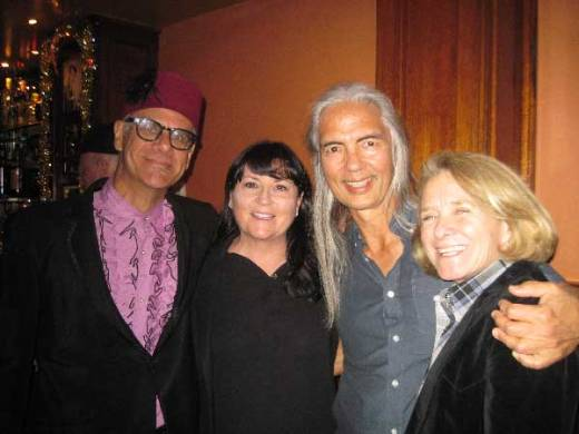 Phast Phreddie the Boogaloo Omnibus and his high school buddies Marriane, Rob and Anita swing at the Johnny Otis Boogaloo Bash!