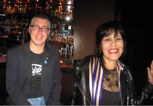 Mr. Soul Satisfaction and Miss Europa were guest DJs at the Johnny Otis Boogaloo Bash!