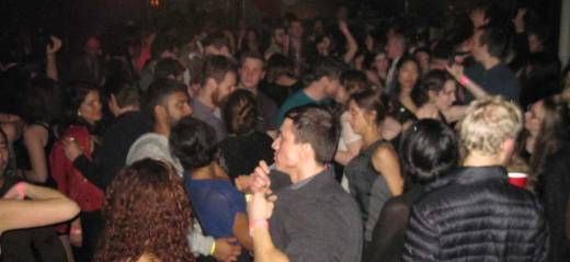 Coco 66's dance floor was jam-packed with New Year's Eve revelers at the Subway Soul Club event!