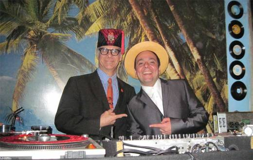 Phast Phreddie the Boogaloo Omnibus and DJ Ratta swing at Blues Dance.