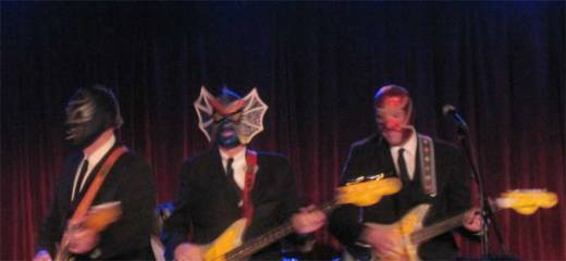 Los Straitjackets swing at The Bell House on Halloween!