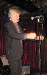 Peter Zaremba of The Fleshtones does the Frankenstein Walk at The Bell House!
