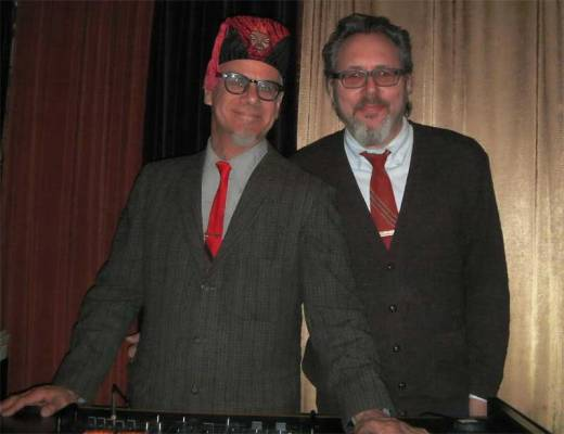 Phast Phreddie the Boogaloo Omnibus and Mr. Fine Wine swing at the DYNAGROOVE!