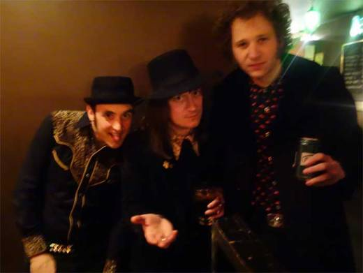DJ Turis Bang Bang is visited by Josh Styles and Brian Hurd of DADDY LONG LEGS at the WHAM-O WATUSI!