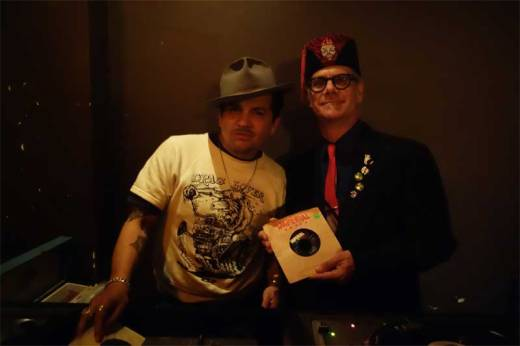 Tony Salvaje and Phast Phreddie the Boogaloo Omnibus swing at WHAM-O WATUSI!