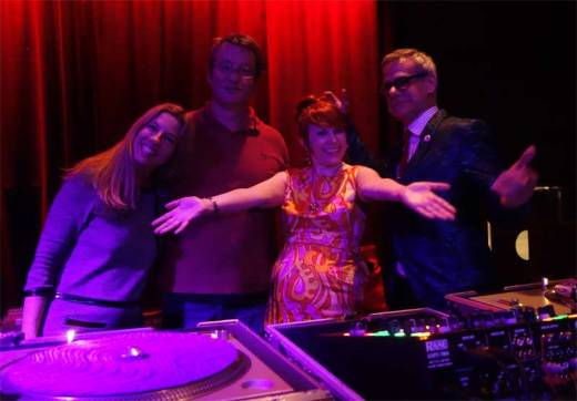The Subway Soul Club Crew: Sheila B, Gene Merideth, Lady Dawn & Phast Phreddie the Boogaloo Omnibus.