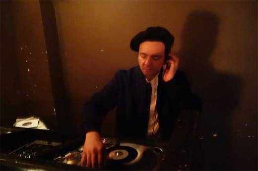DJ Rata in action at the WHAM-O WATUSI!
