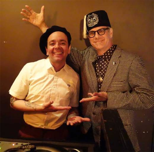 DJ Rata and Phast Phreddie the Boogaloo Omnibus swing at WHAM-O WATUSI!