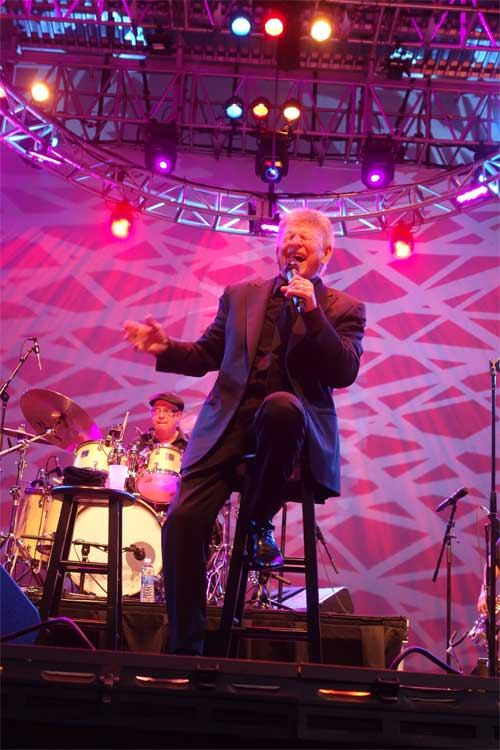 Bobby Rydell swings at Midsummer Night Swing!