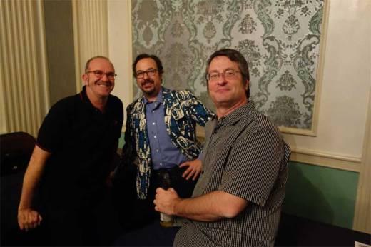 Dave Raistrick, Greg Tormo and Gene Merideth