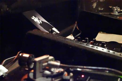 A photo of Billy Miller was in the DJ booth in order to inspire rockin' records.
