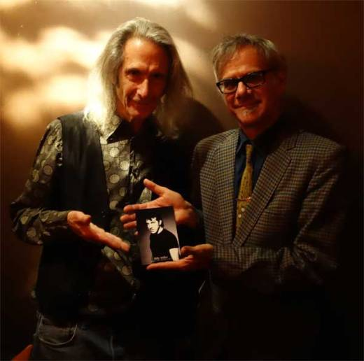 Lenny Kaye and Phast Phreddie the Boogaloo Omnibus pay homage to their fallen friend, Billy Miller, at the WHAM-O WATUSI.