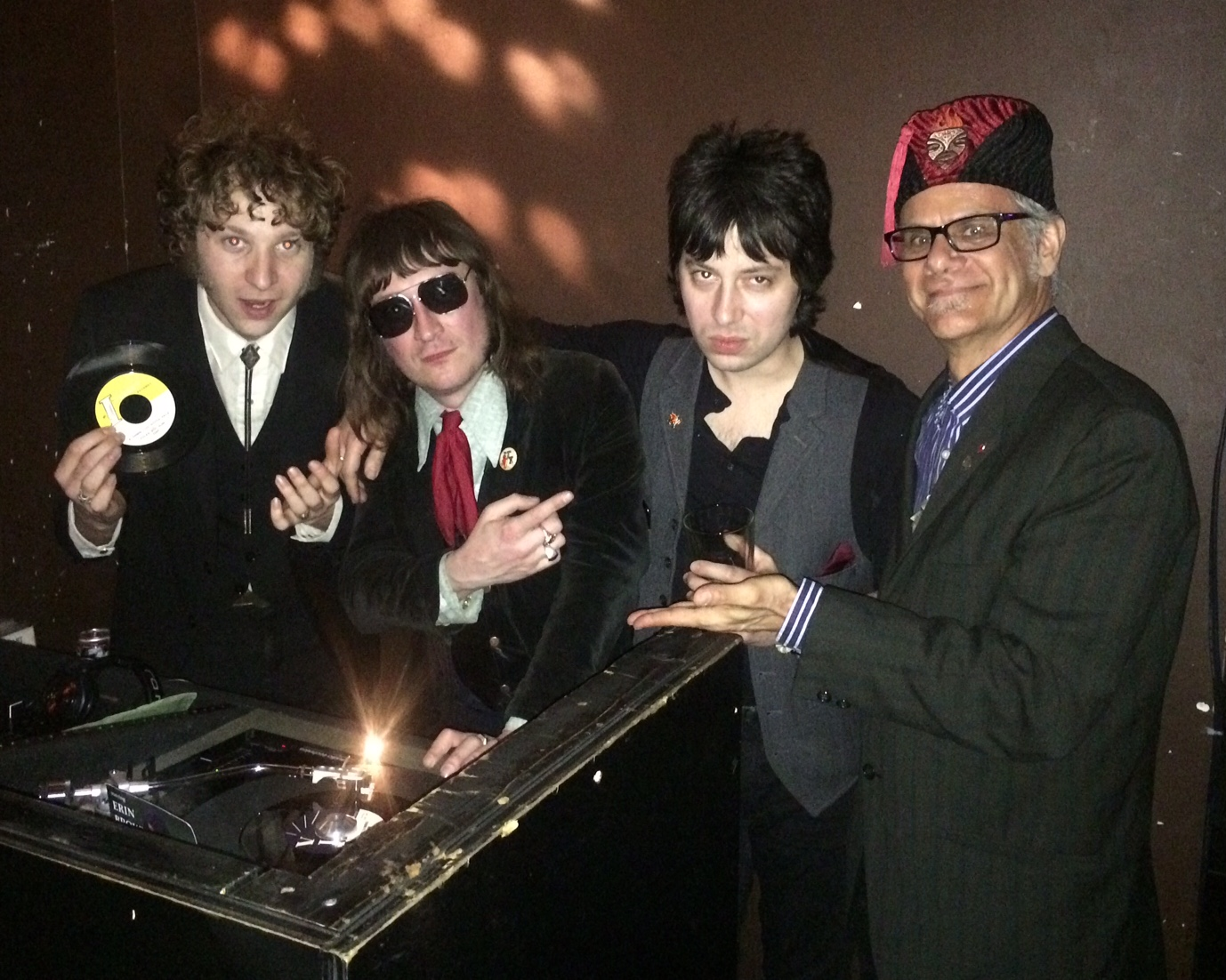 Brian Hurd, Josh Styles And Murat Aktürk Of Daddy Long Legs Swing With  Phast Phreddie The Boogaloo Omnibus At WHAM O WATUSI!!